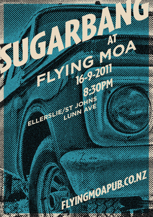 Sugarbang at the Flying Moa 16-Sep-2011