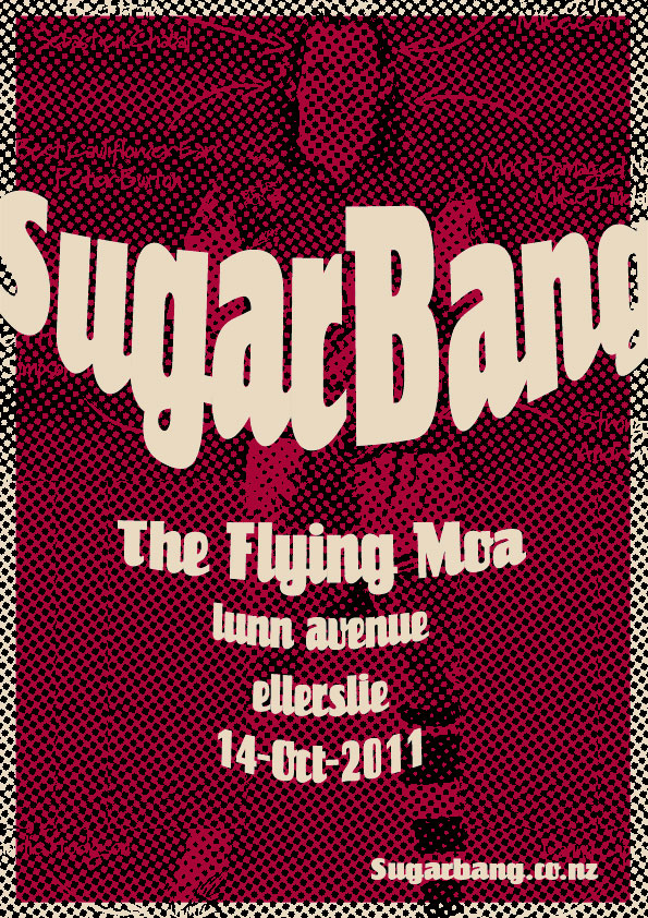 SugarBang at the Flying Moa 14 October 2011