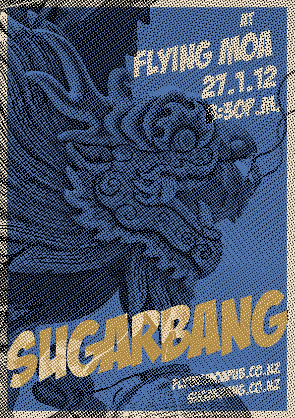 27-Jan-2012 Flying Moa Poster