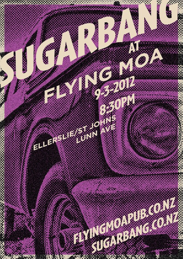 sugarbang at the Flying Moa 7 Mar 2012